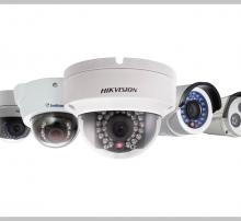 Collection of CCTV cameras by Alarmnet