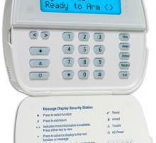 Basic keypad burglar alarm security system by Alarmnet
