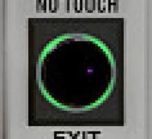Electronic lock for door by alarmnet